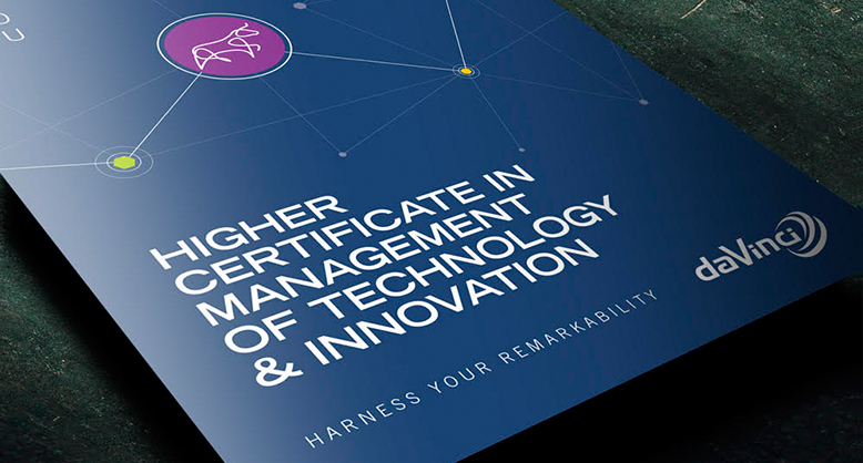HIGHER CERTIFICATE IN MANAGEMENT OF TECHNOLOGY AND INNOVATION